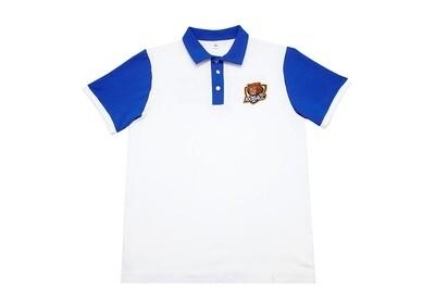 Рубашка-поло с коротким рукавом (белое)