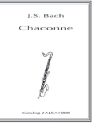 Bach: Chaconne (Hard Copy)