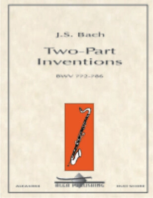 Bach: Two-Part Inventions