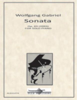 Gabriel: Piano Sonata Op.83