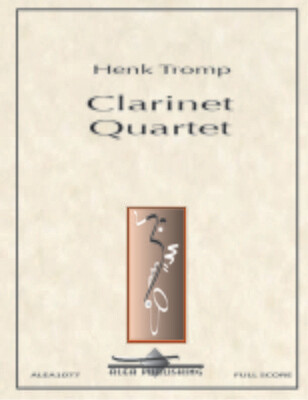Tromp: Clarinet Quartet