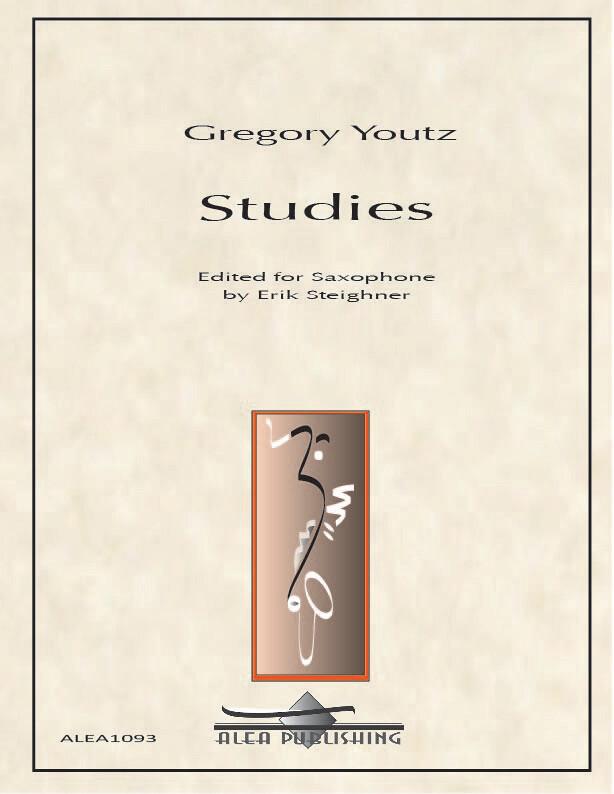 Youtz: Studies for Saxophone