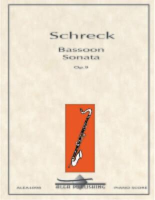 Schreck: Bassoon Sonata Op.9