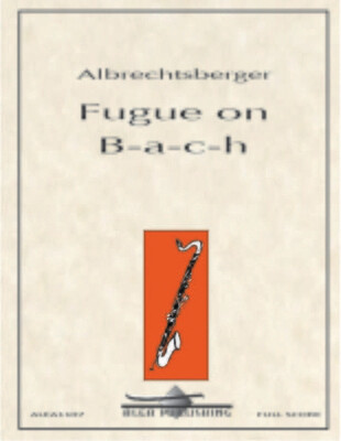 Albrechtsberger: Fugue on B-a-c-h