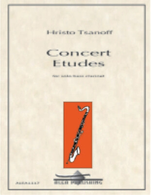 Tsanoff: Concert Etudes