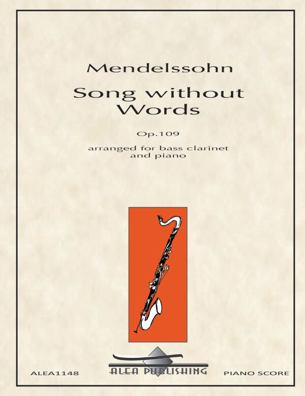 Mendelssohn: Song Without Words, Op.109