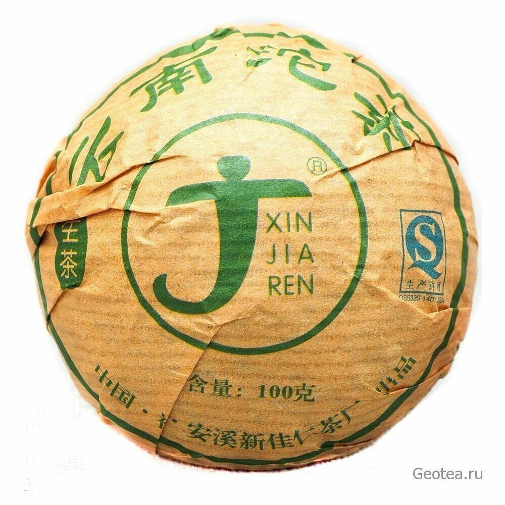 "Чай Шэн Пуэр ""Синьцзяжэнь"" То Ча 100гр."