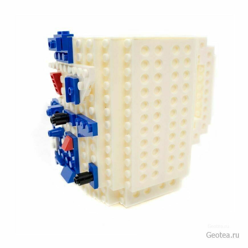 Кружка Лего 350 мл. белая с мини набором