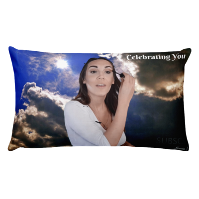 Celebrating You Designer Basic Pillow
