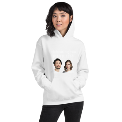 Celebrating You Designer Hooded Sweatshirt
