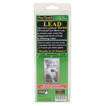 PurTest Water Lead Test - 2 pack
