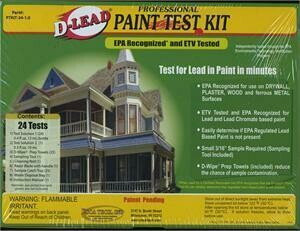 D-Lead Paint Test Kit (24 Tests)