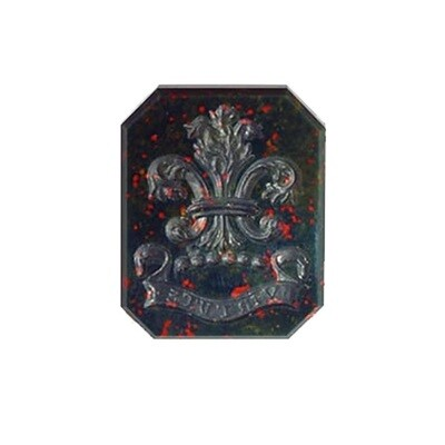 Family Crest in Bloodstone -to replace a broken ring stone