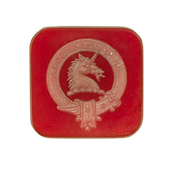 Scots Clan Badge Crest in Carnelian-Unset carved gemstone only