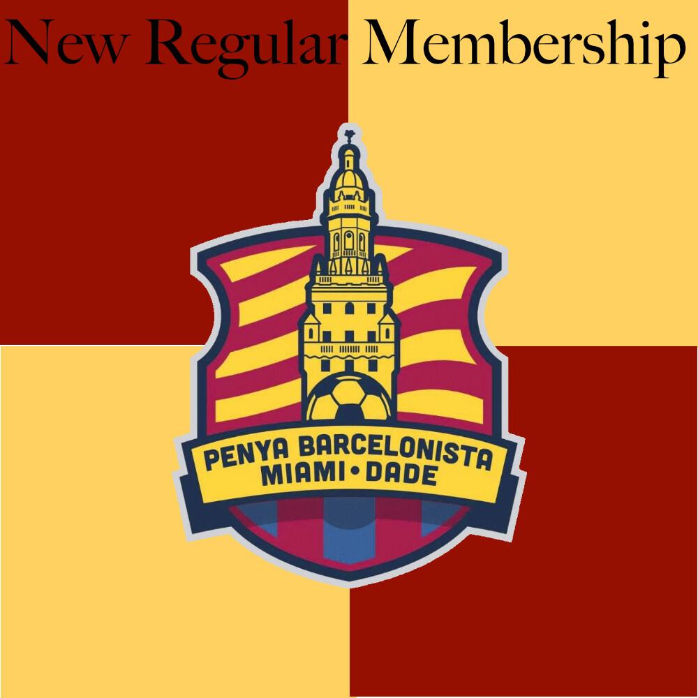 New Regular Membership