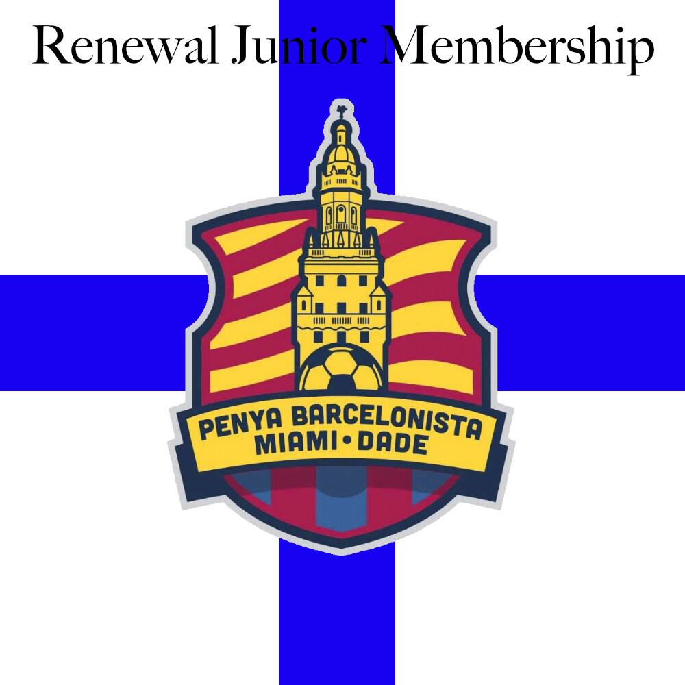 Renewal Junior Membership