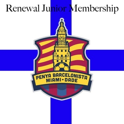 Renewal Junior Membership