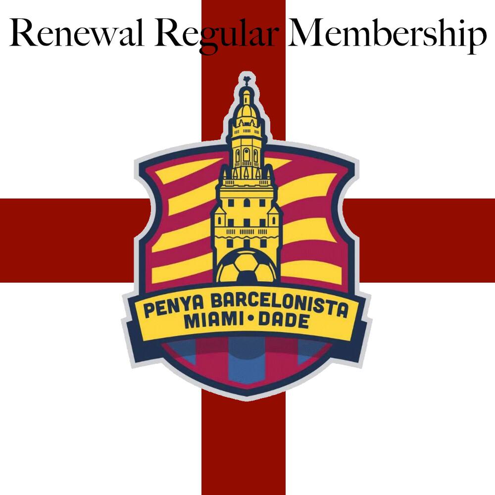 Renewal Regular Membership