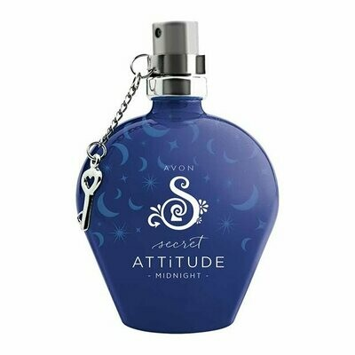 Secret Attitude Midnight Eau de Toilette - 50ml