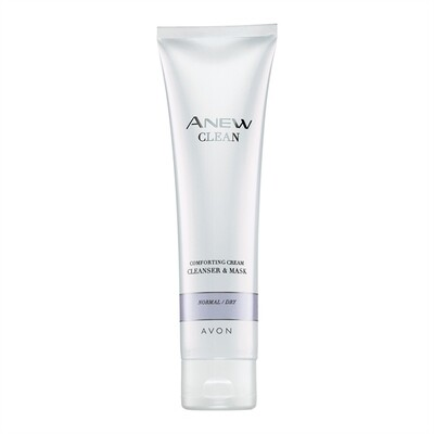 Anew Comforting Cream Cleanser & Mask
