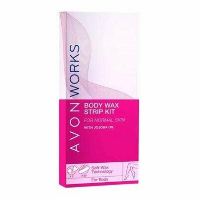 Avon Works Body Wax Strip Kit