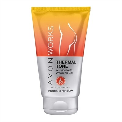 Avon Works Thermal Tone Anti-Cellulite Warming Gel - 150ml