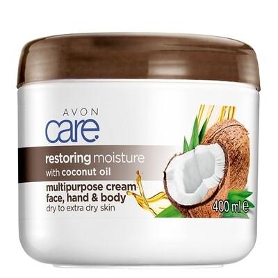 Avon Care Restoring Moisture with Coconut Oil Multipurpose Cream - 400ml