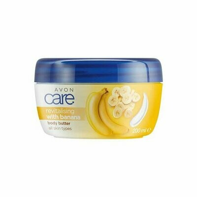 Avon Care Revitalising Banana Body Butter - 200ml
