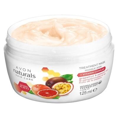 Naturals Hair Treatment Mask - Grapefruit, Passion Fruit +Vitamin Complex - 125ml