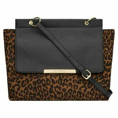 Lipsy Leopard-Print Handbag