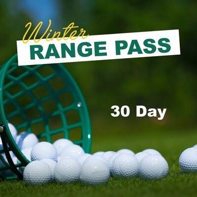 Winter Range Pass - 30 Day Option