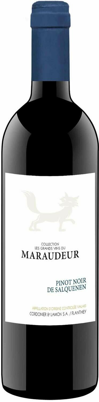 Pinot Noir de Salquenen Valais AOC les grands vins du Maraudeur