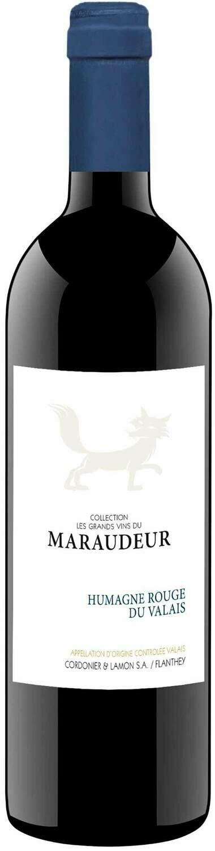 Humagne Rouge Valais AOC les grands vins du Maraudeur