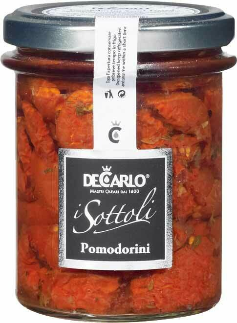Pomodorini in Olio d'Oliva