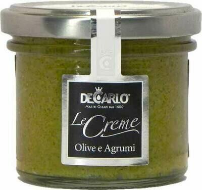 Crema alle Olive Verdi e Agrumi