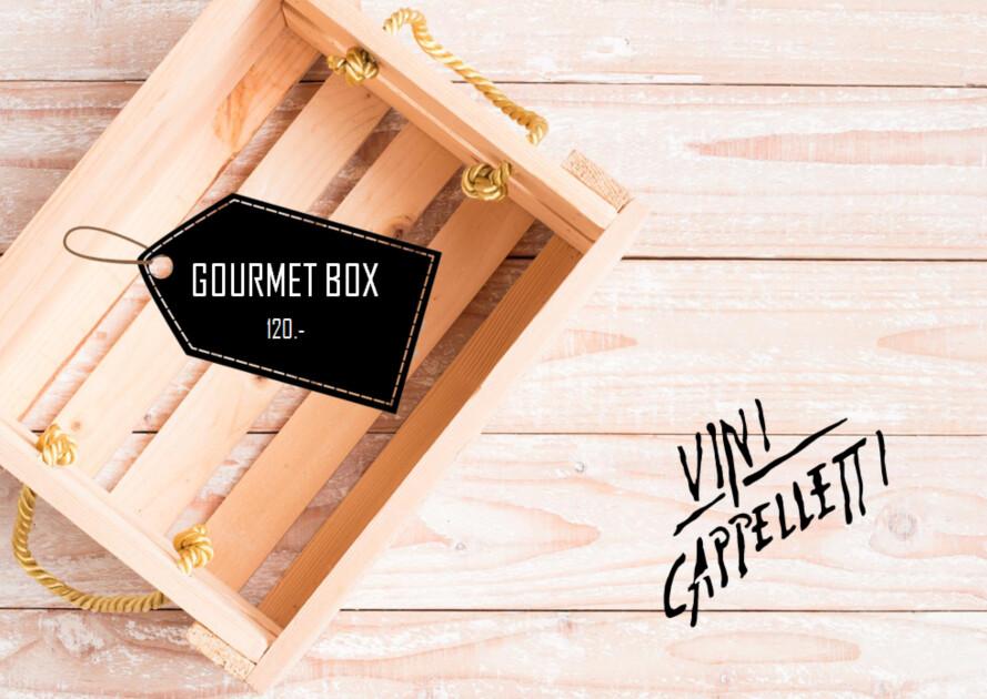 Schlemmer Geschenkbox ohne Wein