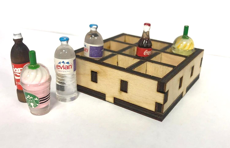 Ящик для бутылочек