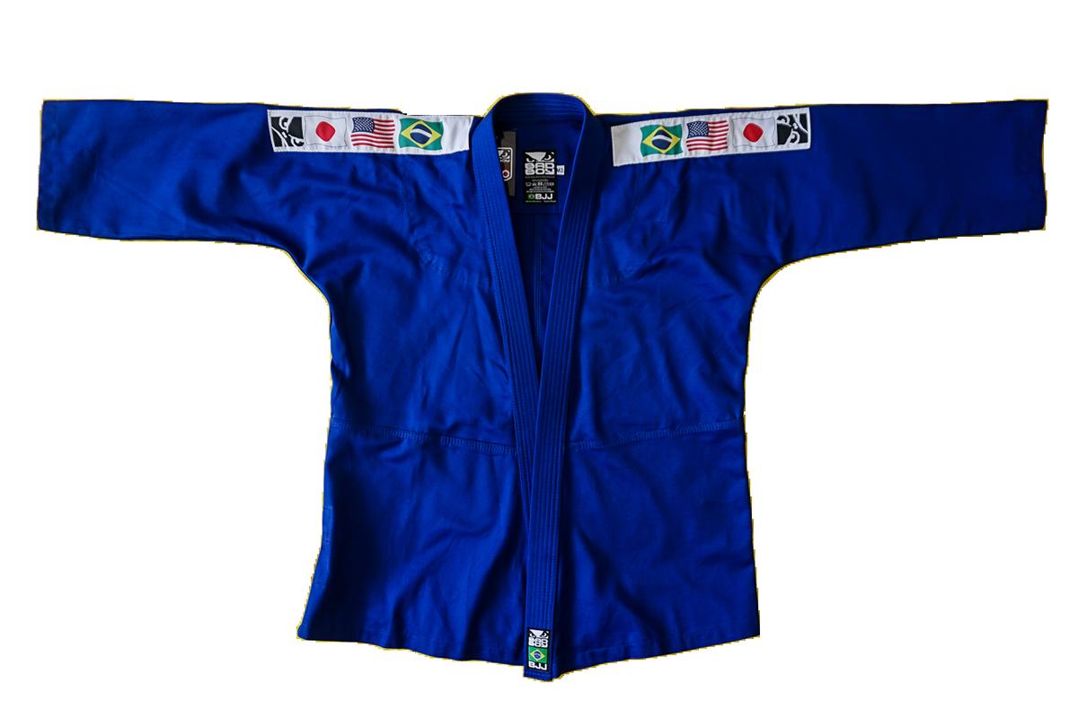 Kimono UNYSSEX sarja iniciante para Jiu  Jitsu e Judo infantil M0-M4