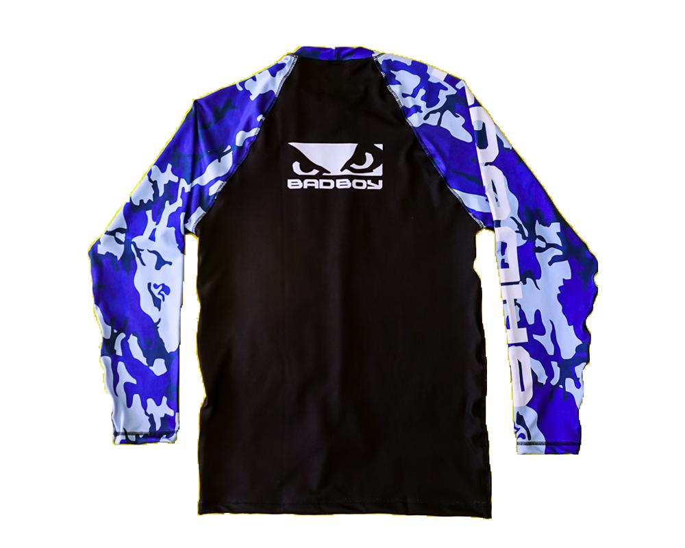 Rashguard BadBoy - Camuflada Azul FRETE GRATIS