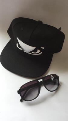 Kit Summer 2020 Pre Lançamentos Óculos BadBoy e boné Importado Black Logo
