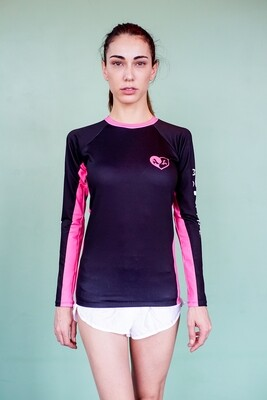 RASH GUARD YIN YANG PINK SEXY MACHINE LYCRA