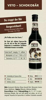 VETO Schokobär (1,00€/100ml)