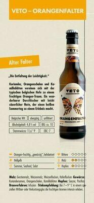 VETO Orangenfalter (1,00€/100ml)