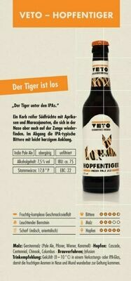VETO Hopfentiger (1,00€/100ml)