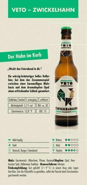 VETO Zwickelhahn (1,00€/100ml)