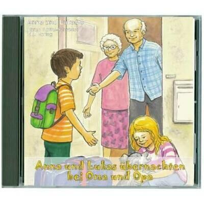Anna und Lukas übernachten bei Oma und Opa CD (8)