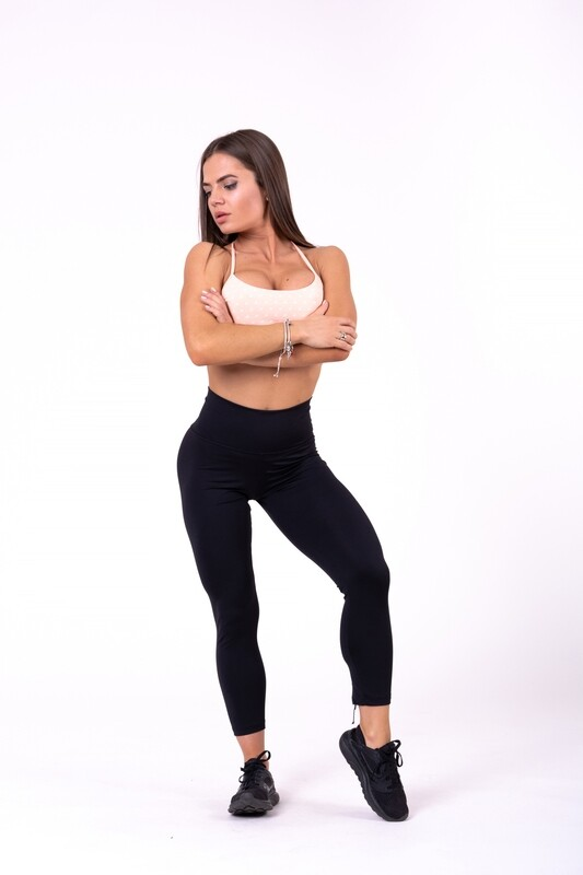 ЛОСИНЫ NEBBIA LACE-UP 7/8 LEGGINGS 661 BLACK