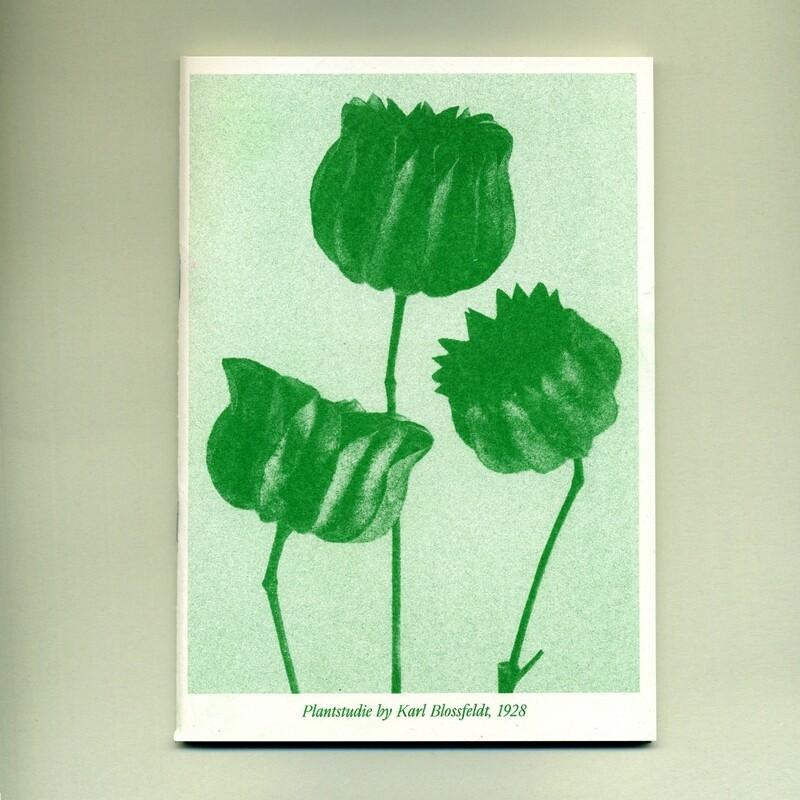 Блокнот Plantstudie#1