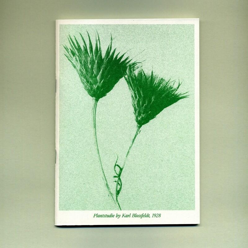 Блокнот Plantstudie#2