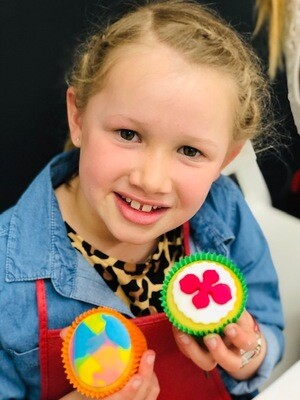 SCHOOL HOLIDAY WORKSHOP - FREESTYLE CUPCAKE DECORATING - Friday 11th October 2019 (1pm - 4pm)